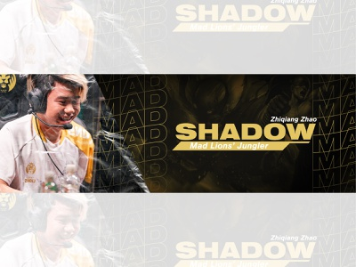 MAD SHADOW shadow lol riot games mad lions esports mad esports mad shadow mad banner mad lions lec graphic design graphicdesign esports logo design esports design esports banner design esports banner esports esportlogo design dailyposter