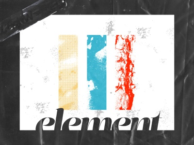 Element dailyposterdesign daily poster graphicdesign graphic grunge digitaltexture graphics graphic design simplitistic simple flat digitalposter design dailyposter daily post contrast cleveism