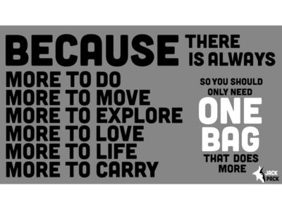 Jack Pack Manifesto
