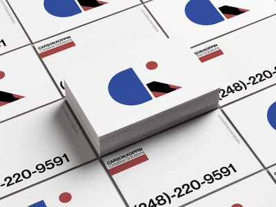 Carson Koppin Business Cards