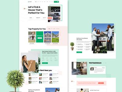 Website Template Design web ui design web ui ui design uidesign uiux templatedesign web uiux web design homeepage website builder template website