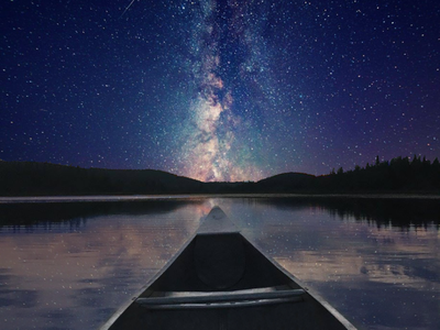 Galaxy Canoeing pt.2 design space photoshop galaxy canoeing adobe ilustrator illustration graphic deisgn