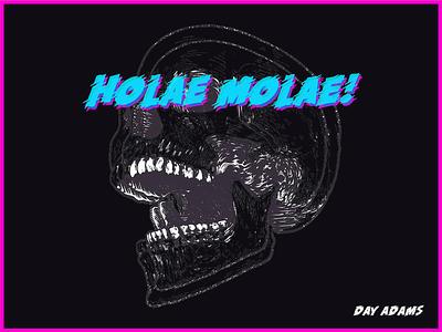 Holae Molae! Song Cover illustration design branding animation album artwork