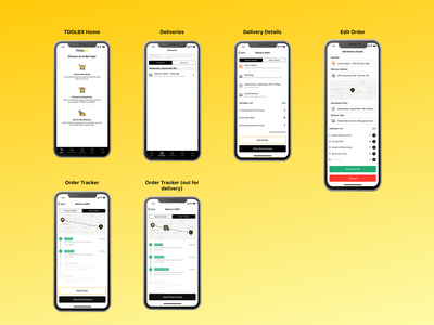 Toolbx app userflow redesign prototype figma ux ui design
