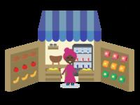 POKET Merchant Illustration