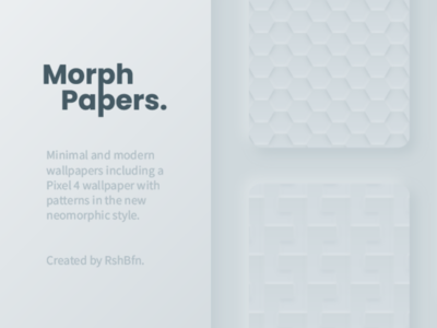 Morph Papers - Wallpapers