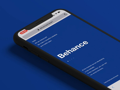 Magic Swipe page one app free template minimalism commerce personal concept interface slider ux animation landing promo ukraine portfolio ui design web