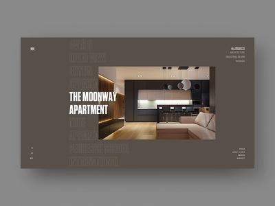 Svoya Studia free app typography branding minimalism illustration template personal interface ux concept animation fashion slider promo ukraine portfolio ui design web