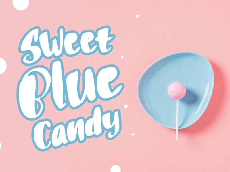 Puff Candle Playful Font Preview