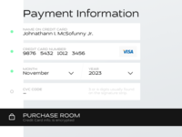 Dailyui 002 Credit Card Checkout