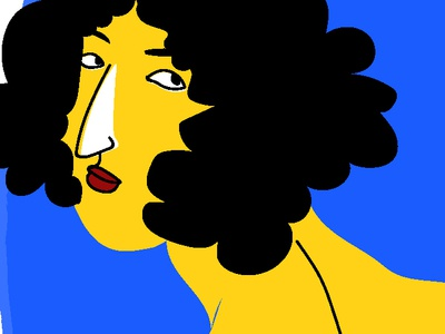Doodle 4: Yellow and Blue