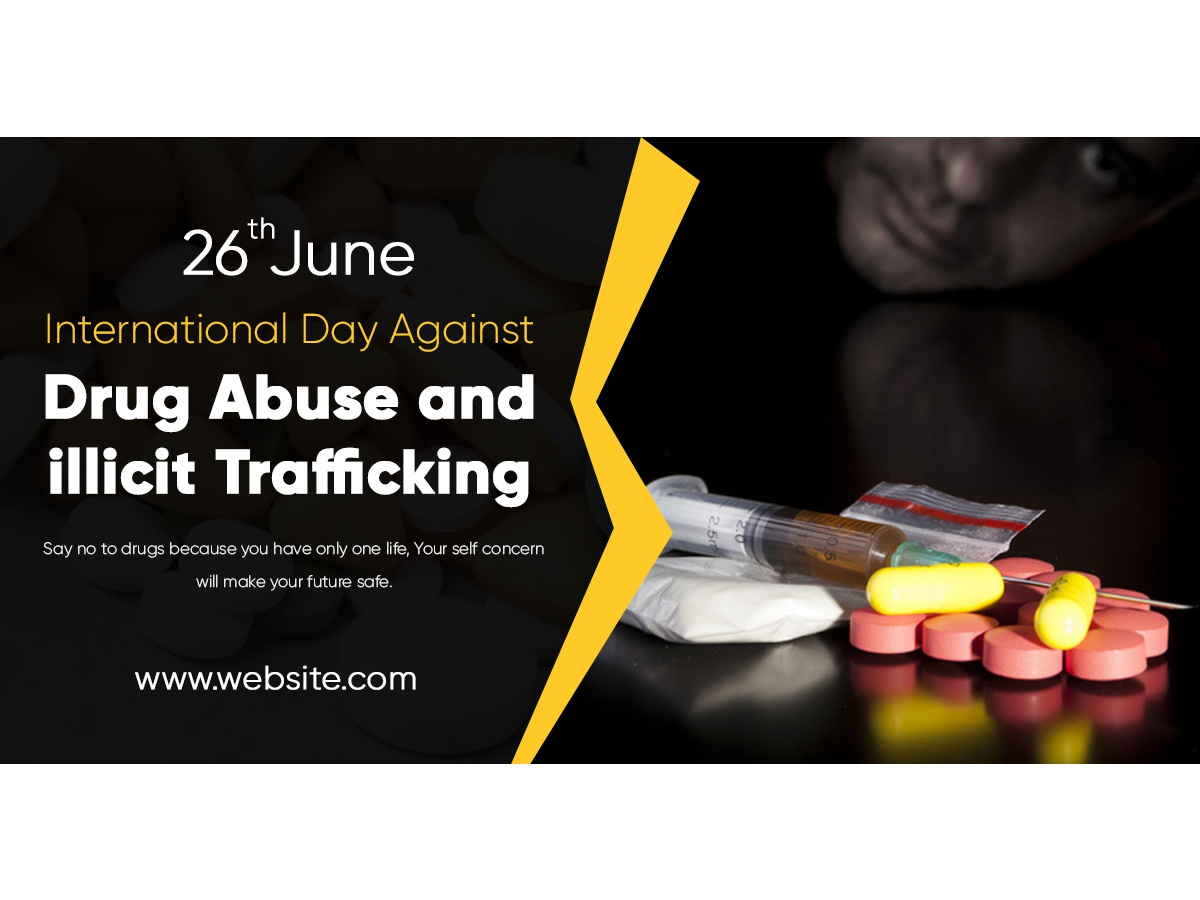 International Day Against Drug Abuse smokes abuse drugs