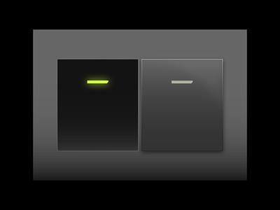 Switch [Sabotaged] futuristic plastic cyberpunk ui 3d switch