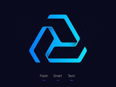 Marco De Sousa Telstone Icon recycle tech smart fresh logo mark icon logo