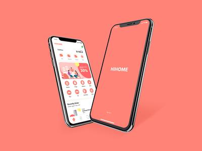 Hihome App - Design Concept