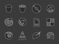 Stripey Icons