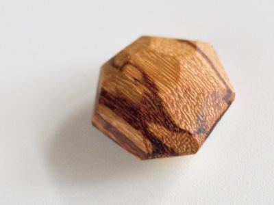 Gem: Reverse Side wood product gem geometric