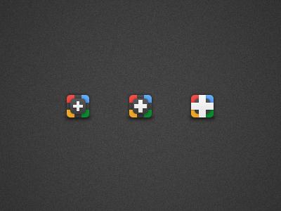Google Plus Icons google plus icon colours psd