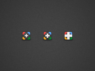 Google Plus Icons google plus icon colours psd