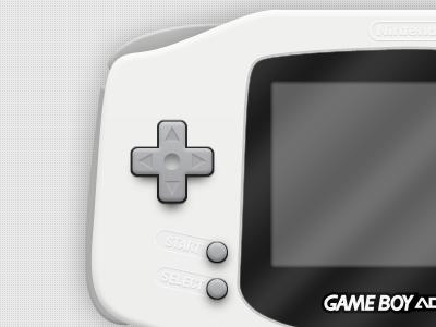 Gameboy Advance gameboy advance buttons interface console modern nintendo clean control