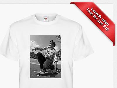 Clickteez.me Official Beta Offer tee design tshirt button ui selectors colours