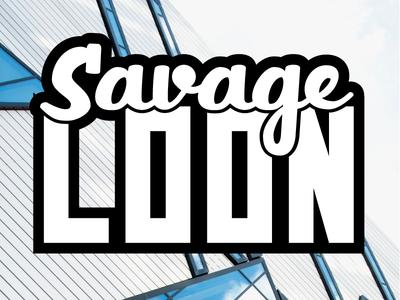 "Local Ottawa Zine ""Savage Loon"" - Masthead Script"