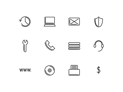 Local Ottawa IT Firm Icons