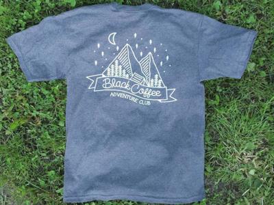 Black Coffee Apparel - T-Shirt Design - Back