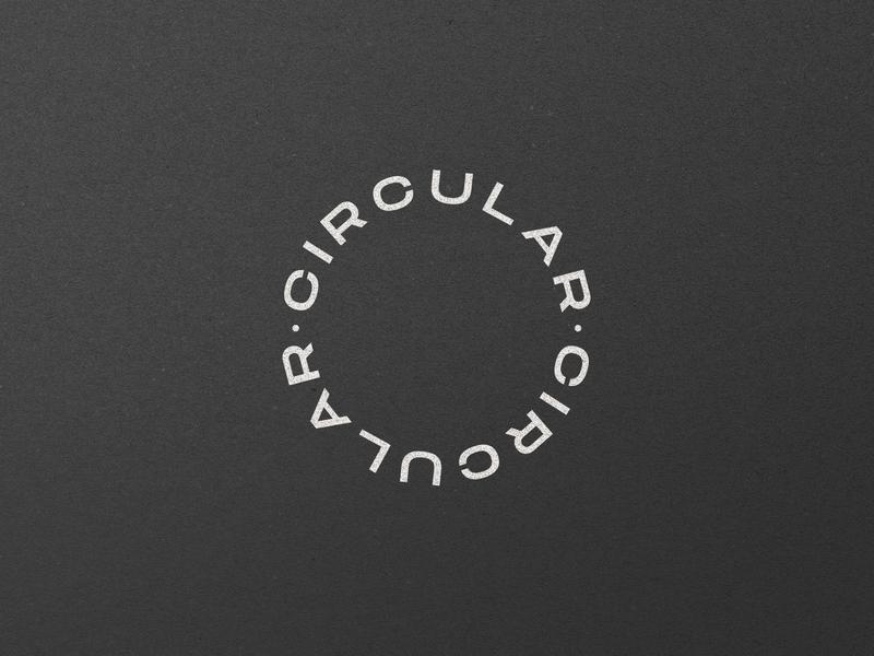 Circular Wordmark Challenge circle circular challenge design identity logo logotype branding wordmark @andrepicarra