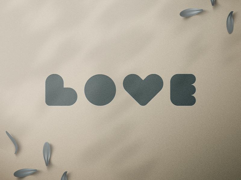 Love Wordmark Challenge branding logotype letters wordmark @andrepicarra mark identity logo love
