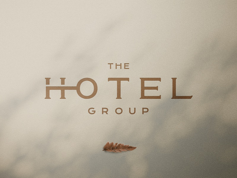 Hotel Wordmark Challenge key hotel letters minimal identity wordmark logotype branding logo @andrepicarra