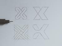 X Logo Explorations