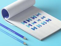H Tech Logo Coloring