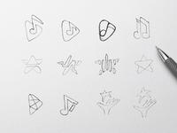 Music Event Logo Exploration