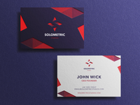 Solometric Business Cards