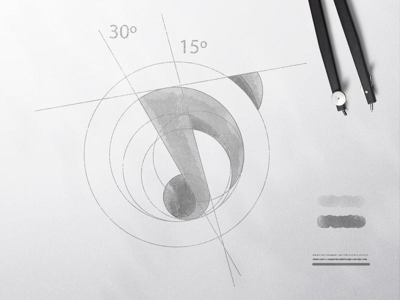 D ' Dance + Music Logo Guideline guide guideline logotype monogram letter icon design mark @andrepicarra branding identity logo