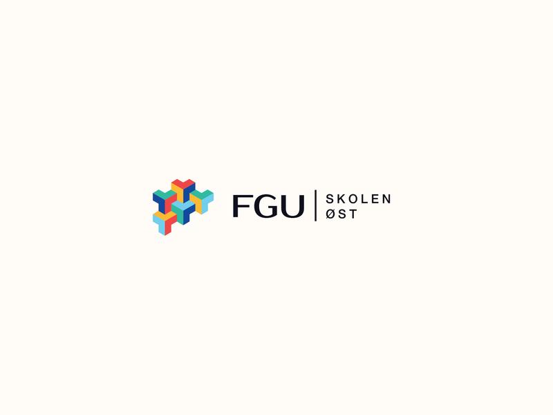 FGU logo logo design branding logo design branding brand and identity typography graphic  design design logo