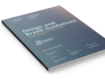 Disrupt Digital Brand Guidelines