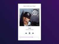 Daily UI 009, Music Player