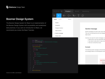 Boomer Design System *for React*