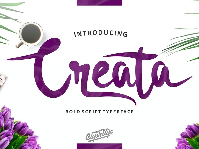 Creata apparel design food food magazine font design script font script lettering handlettering calligraphy typography logo branding branding