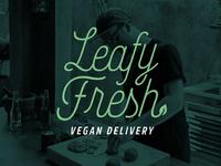 Leafy Fresh Logo Concept