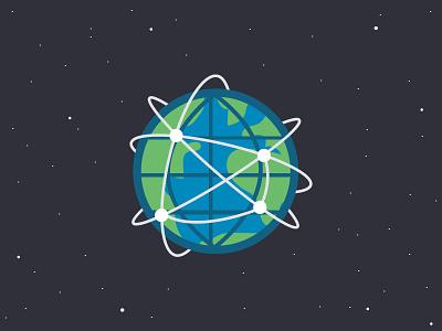 The Intergalatic Web illustration