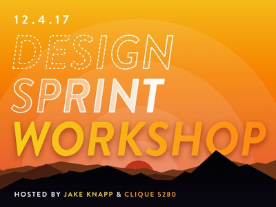 Clique Denver Design Sprint workshop design design sprint