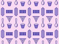 Spoonbill & Sugartown Pattern
