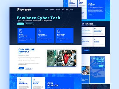 Fewlance Website Design design landing page web page design website design web design wordpress design wordpress elementor-pro elementor
