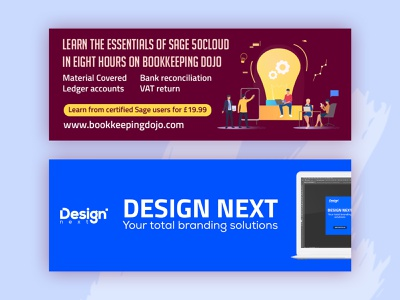 A Couple Of Facebook Cover Photo Design banner design facebook cover design facebook cover photo fb cover illustration banner branding design
