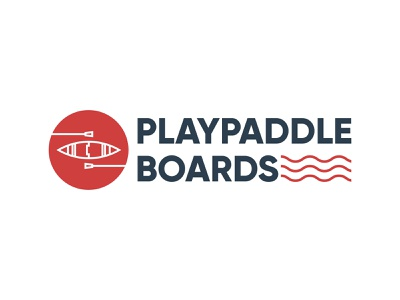PlayPaddleBoards Logo Design logo designs logos logo design typography vector logo illustration branding design
