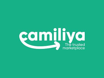 Camiliya Logo Design c logo brand identity illustration icon c letter c logo design logo typography branding design