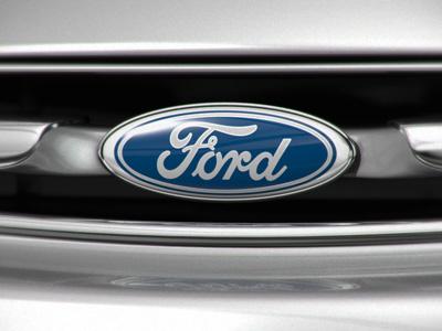 Ford Logo ford logo 3d